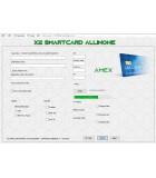X2 emv software AMEX version