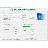 X2 emv software AMEX version